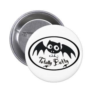 Totally Batty Pinback Button