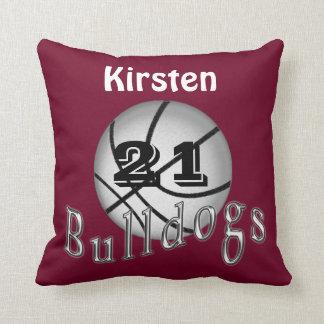 Totally Customizable Basketball Pillows for Team