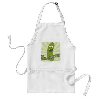 Totally Dill-lightful Pickle Adult Apron