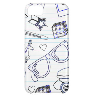 Totally Epic Eighties Doodle Case For iPhone 5C