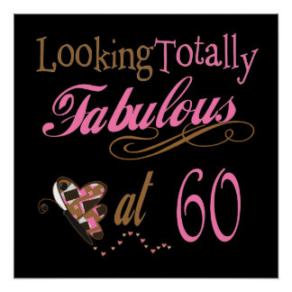Totally Fabulous at 60 Poster