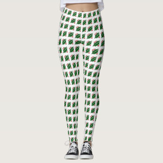 Totally Fun Holiday Holly Leggings