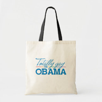 Totally Gay for Obama Canvas Bag