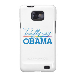 Totally Gay for Obama Samsung Galaxy SII Cover