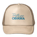 Totally Gay for Obama Mesh Hat