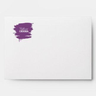 Totally Gay for Obama-.png Envelopes