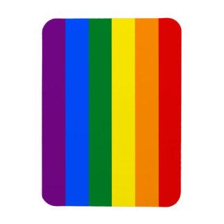 Totally Gay Pride Flag Rectangular Photo Magnet