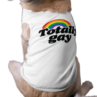 TOTALLY GAY RAINBOW - WHITE -.png T-Shirt