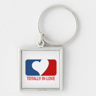 Totally in Love Keychain