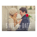 Totally in Love   Save the Date Postcard