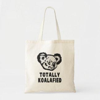 Totally Koalafied Koala Canvas Bag