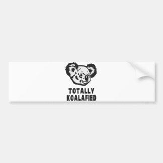 Totally Koalafied Koala Bumper Sticker