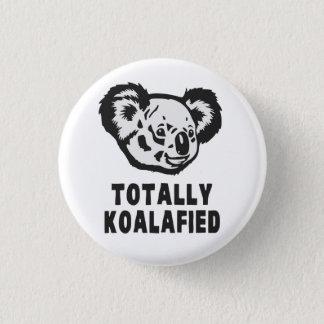 Totally Koalafied Koala Button