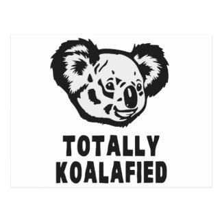 Totally Koalafied Koala Postcard