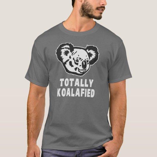 Totally Koalafied Koala T-Shirt | Zazzle.com
