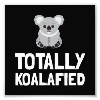 Totally Koalafied Photo Print