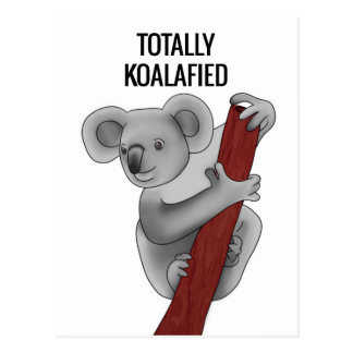 Totally Koalafied Postcard