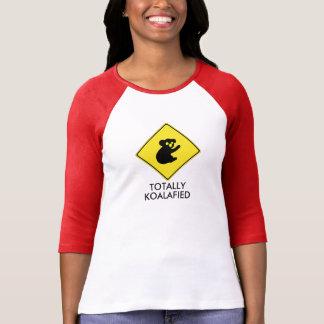 Totally koalafied Raglan Ladies shirt