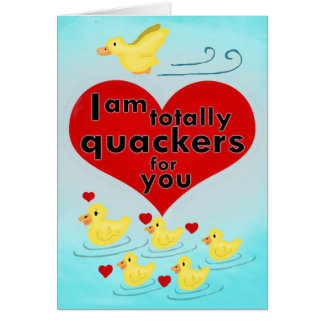 Totally Quackers Card