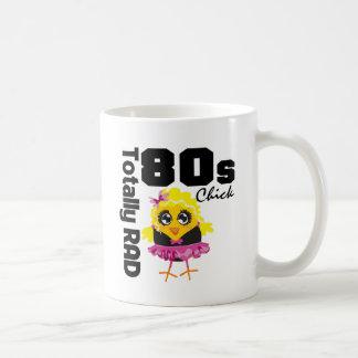 Totally RAD 80s Chick Classic White Coffee Mug