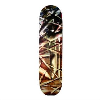 Totally Rad Skate Design Skateboard Deck