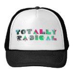 Totally radical 80s mens trucker hat