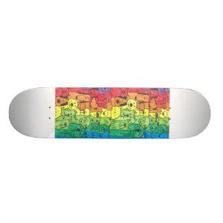 Totally radical dog design skateboard