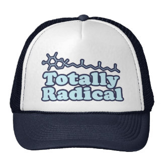 Totally Radical for Science Teachers and Nerds Trucker Hat