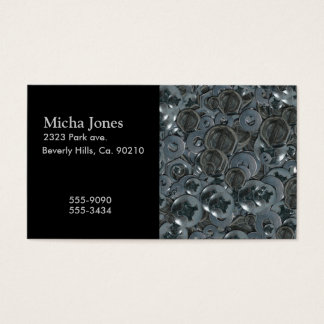 Totally Screwy Various Metal Screw Heads Business Card