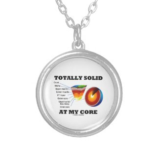 Totally Solid At My Core (Layers Of The Earth) Necklace