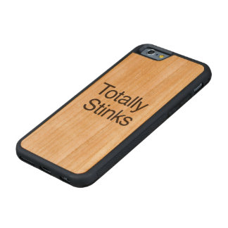 Totally Stinks Carved® Cherry iPhone 6 Bumper