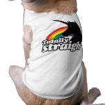 TOTALLY STRAIGHT UNICORN -.png Doggie Shirt