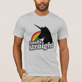 TOTALLY STRAIGHT UNICORN -.png T-Shirt