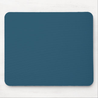 Totally Teal Blue Color Trend Blank Template Mouse Pad