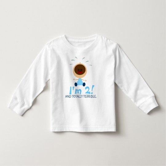 Totally Terrible Twos Shirts for Toddlers