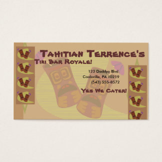 Totally Tiki! Business Card