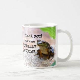 totally ( Toadally) Awesome! Classic White Coffee Mug