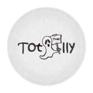 Totally Todd Cutting Board, Logo Cutting Board