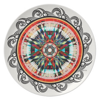 Totally Totem Melamine Plate