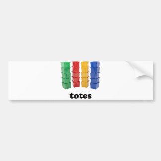 Totally Totes Bumper Sticker