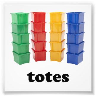 Totally Totes Photo Print