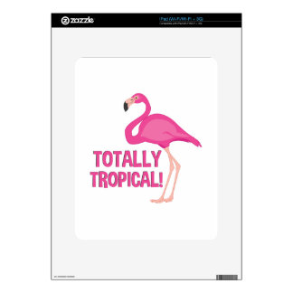 Totally Tropical Decal For iPad