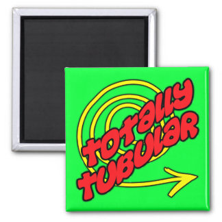 Totally Tubular 2 Inch Square Magnet