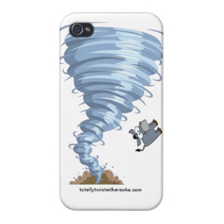 Totally Twisted Karaoke iPhone 4 Case