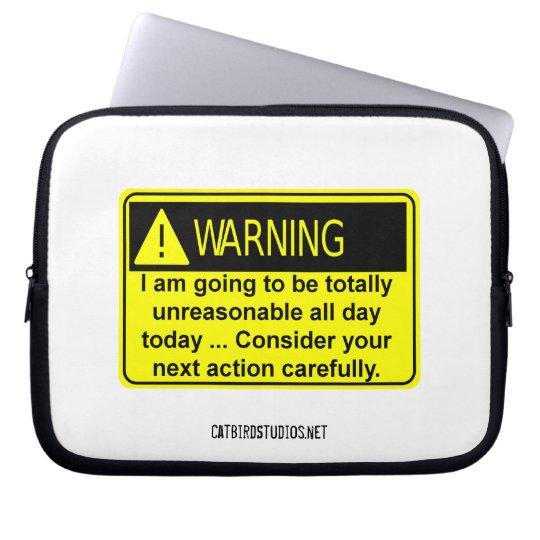 Totally Unreasonable Electronics Bag