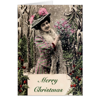 Totally Vintage Christmas Card