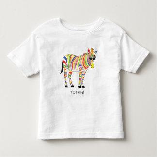totally zebra toddler t-shirt