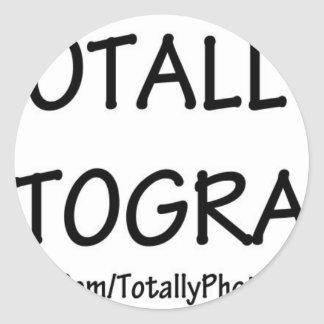TotallyPhotography (Season 2011) Classic Round Sticker