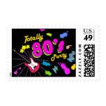 Totalmente 80s fiesta, sellos de encargo