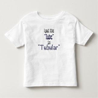 "Totalmente bebés ""tubulares"" playera de bebé"